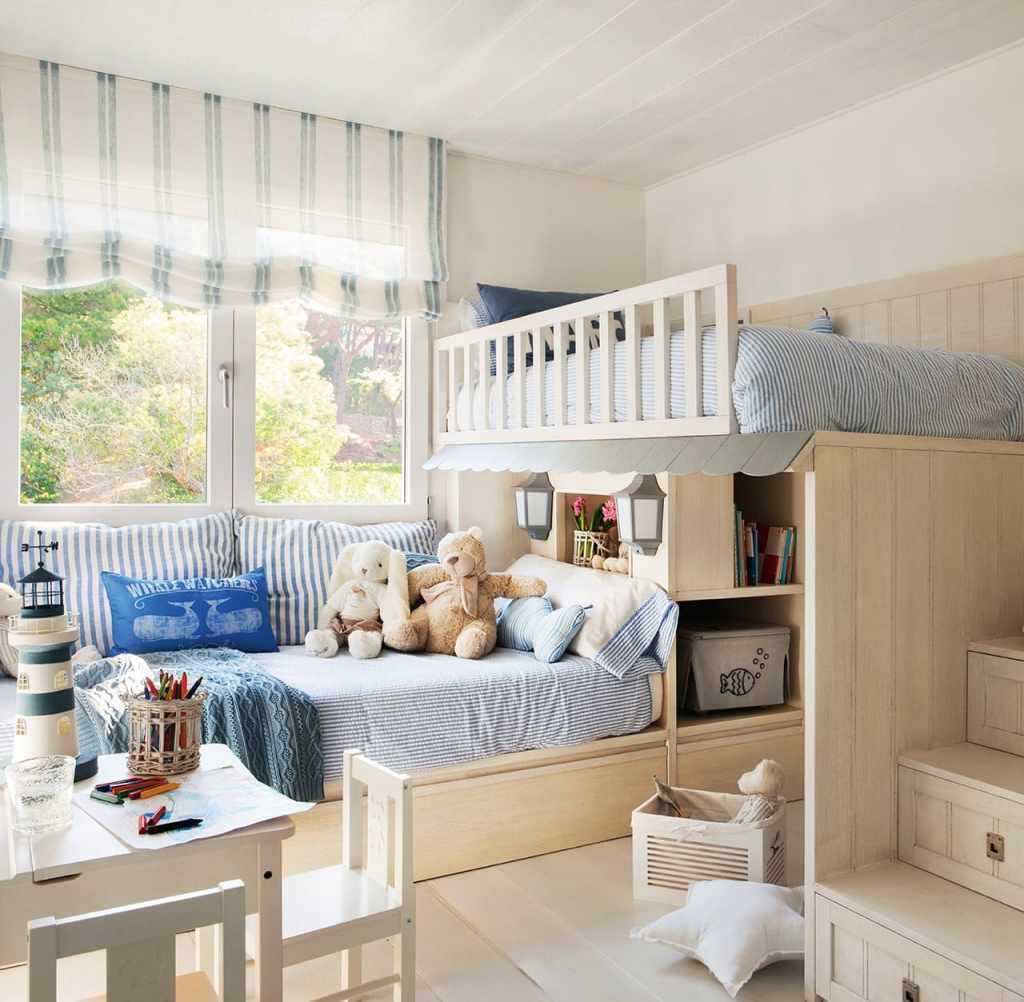 Детская комната дизайн интерьера для двоих