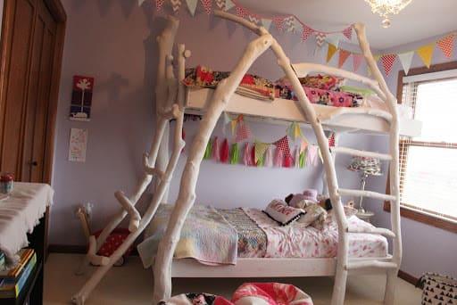 Дизайн детской для двух дочек