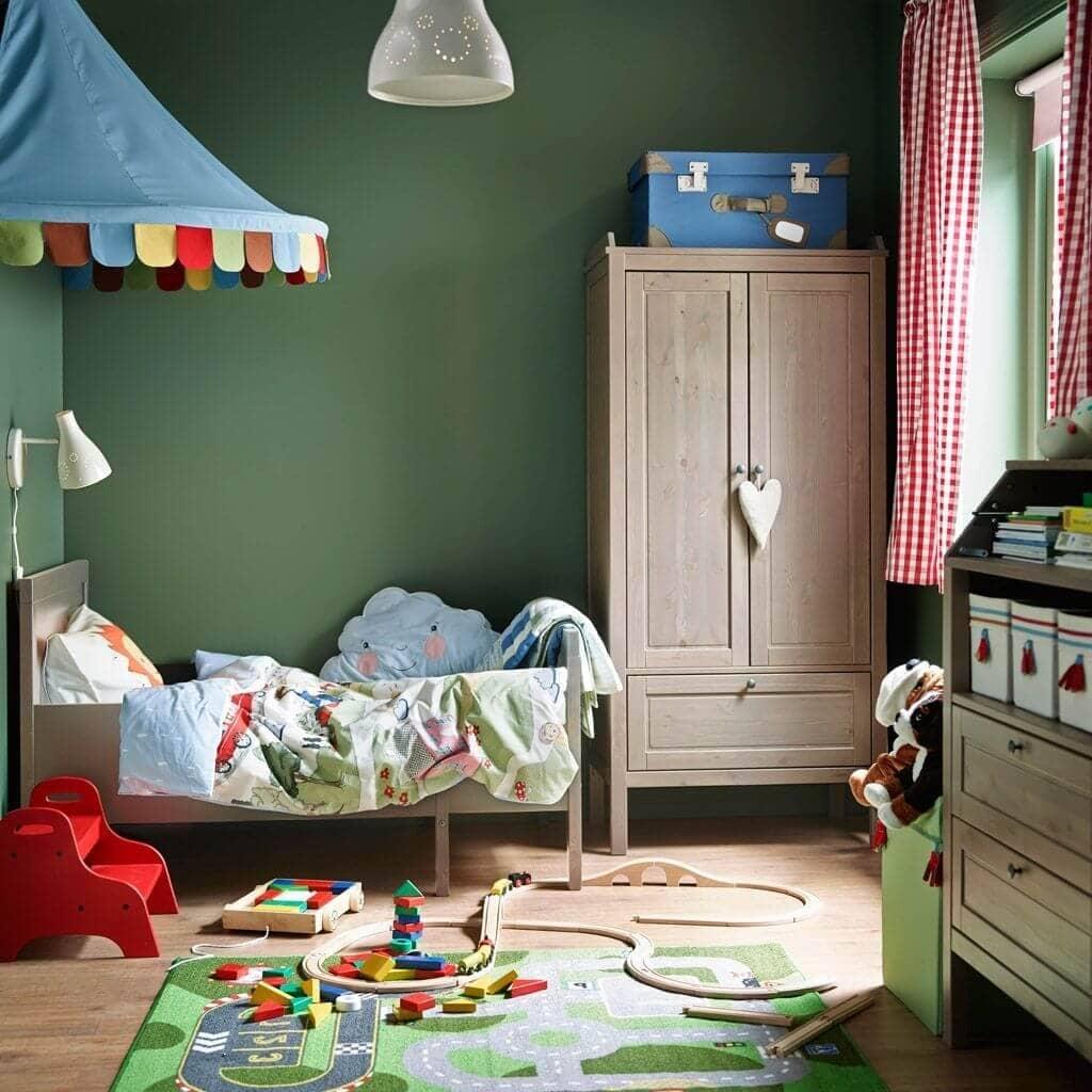 Детская комната Икеа дизайн