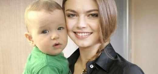 Дети Алины Кабаевой фото