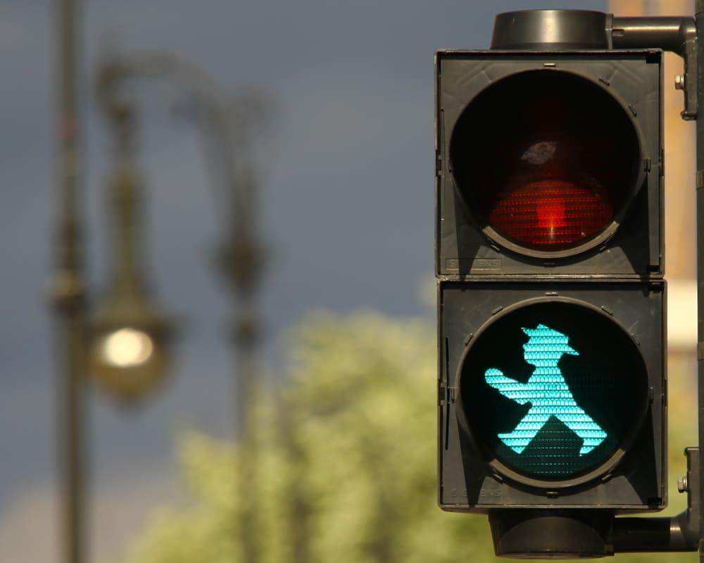 Светофор на улице