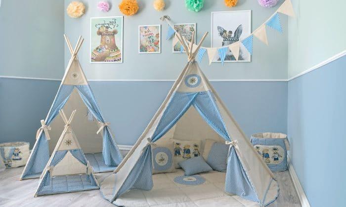 Детский домик шалаш
