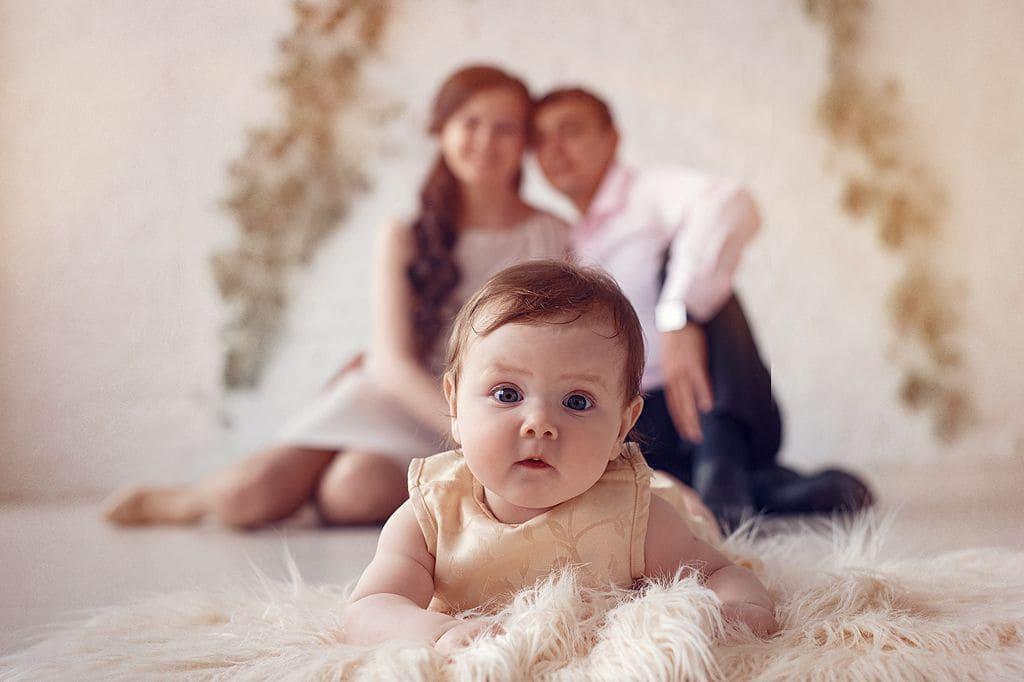 Необычная семейная фотосессия
