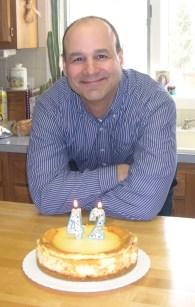 Hubby's favorite...cheesecake