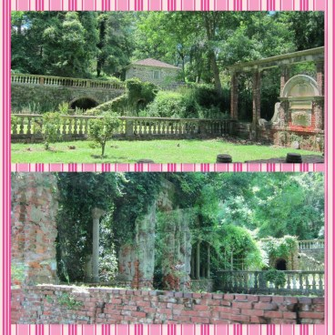 Ruins of old gardens