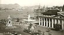 1910年頃の中環
