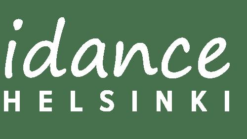 Logo - IDANCE Helsinki - White