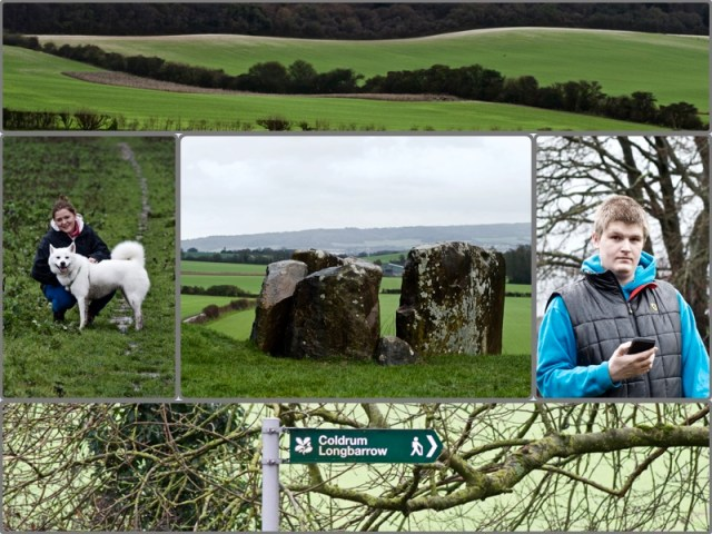 Coldrum long barrow walk