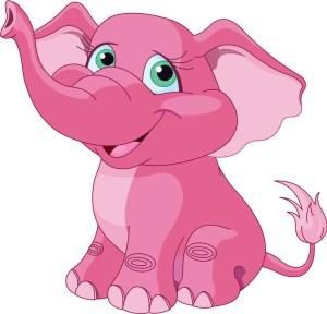 Denk NIET aan de roze olifant!
