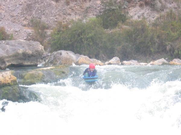 julie dans les rapides