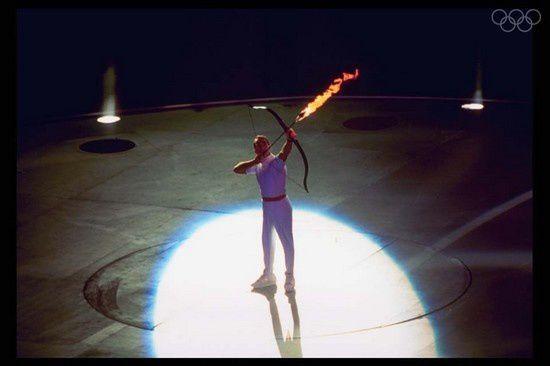 """Résultat de recherche d'images pour """"flamme olympique barcelona"""""""