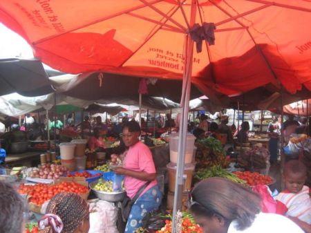 Le marché de Grand Village