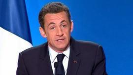 conférence de presse Nicolas Sarkozy