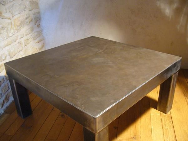 Table Basse En Bton Cir Olnidesign Luminaires Amp Mobiliers
