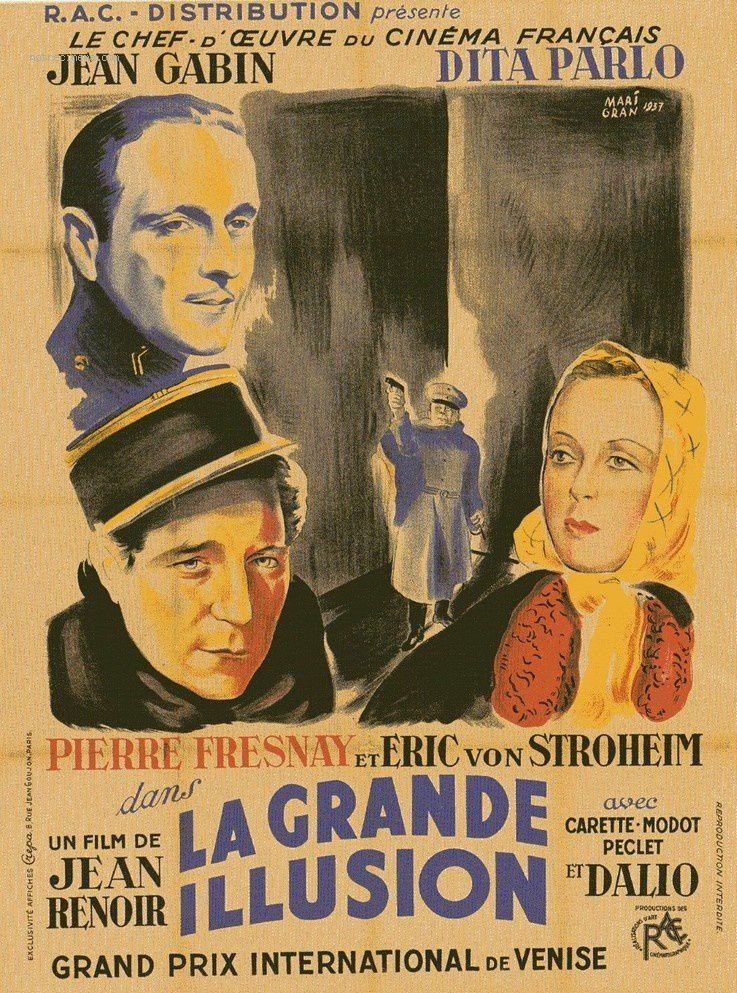 La Grande Illusion (Jean Renoir, 1937) : le mirage de l'existence -  Décryptage d'affiche de films