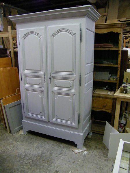 armoire louis14 peinte