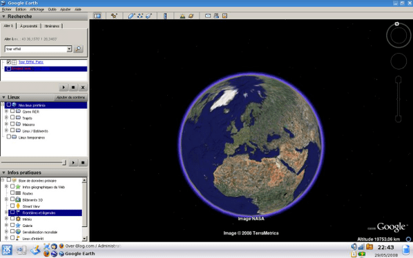 Northing Google Easting Earth