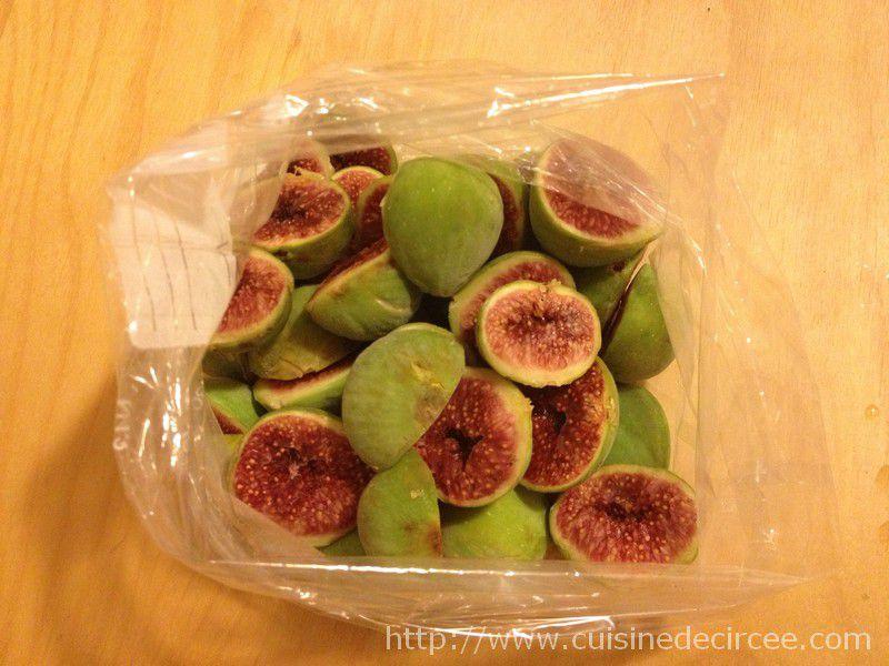 Conserver des figues par cong lation la cuisine de circ e - Cuisiner des figues fraiches ...