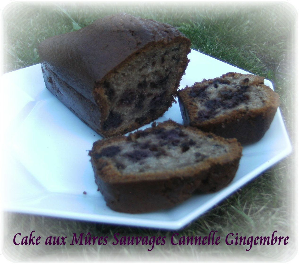 cake aux mures sauvages cannelle gingembre mes petites recettes preferees