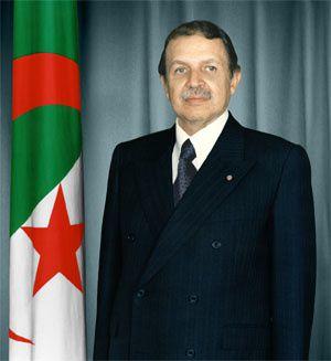 Ritratto ufficiale del Presidente Abdelaziz Bouteflika