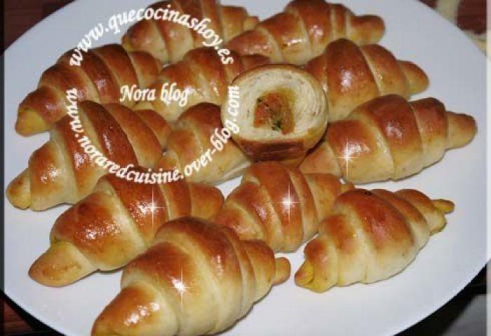 Mini Croissants Salés Farcis Douceurs Culinaires De Nora
