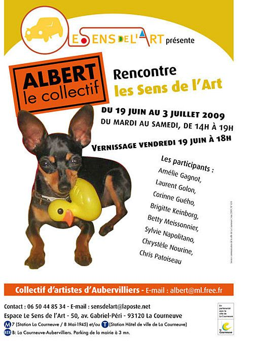 le collectif d'artistes Albert