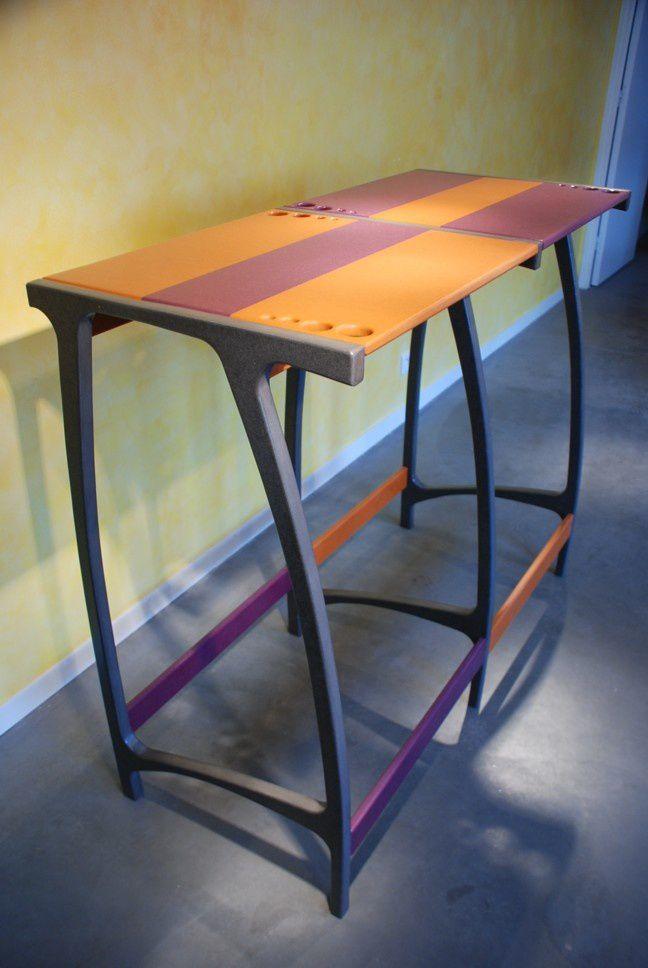 Table Haute BullE Design Valchromat Pour Terrasse Et
