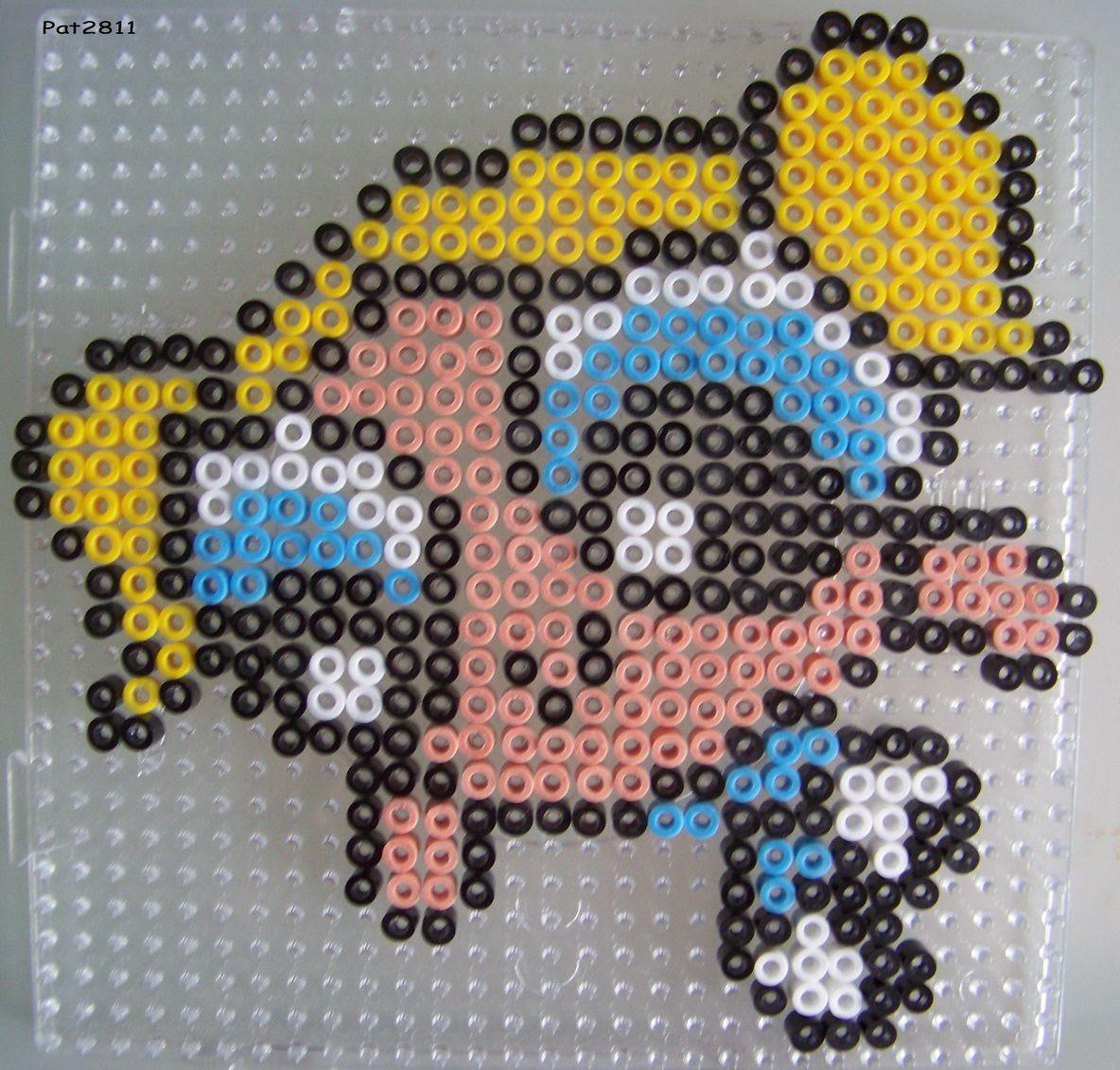 Betty Boop Perler Beads
