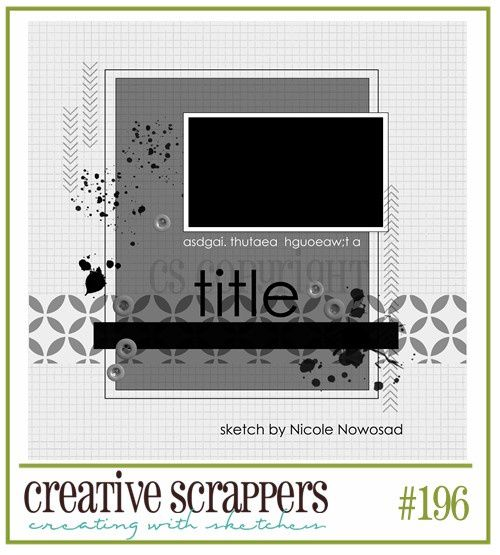sketch Creative Scrappers 196