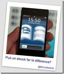Può un ebook far la differenza?