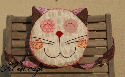 sac à dos chat 1