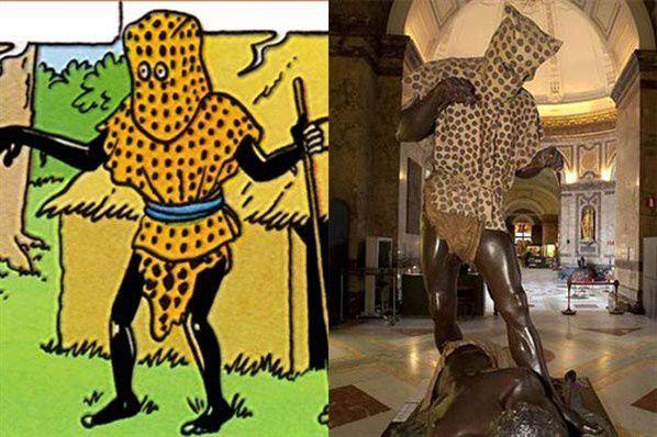 """Résultat de recherche d'images pour """"l'homme léopard Tintin photos"""""""