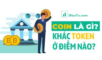 Sự khác nhau của token và coin