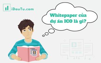 Trong lĩnh vực tiền điện tử, whitepaper là bản mô tả chi tiết về dự án Initial coin offering (ICO) mà một công ty/ nhóm nhà phát triển thực hiện.