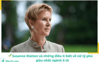 Hình minh họa cho nữ tỷ phú Susanne Klatten