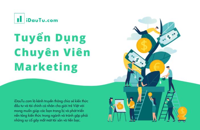 iDauTu.com - Tuyển dụng Chuyên Viên Marketing