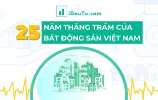 25 năm thăng trầm của Bất động sản Việt