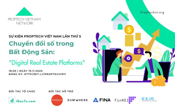 sự kiện PropTech VietNam 2020