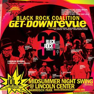 Black Rock Coalition Get Down Revue at Midsummer Night Swing @ Lincoln Center Damrosch Park Bandshell | New York | New York | United States