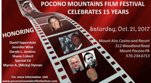 Daryle Lamont Jenkins to Receive 'Daniel Pearl Multimedia Award' at Pocono Mountains Film Festival @ Mt. Airy Resort & Casino