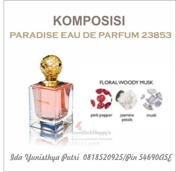 Komposisi Paradise Eau De PArfum 23853