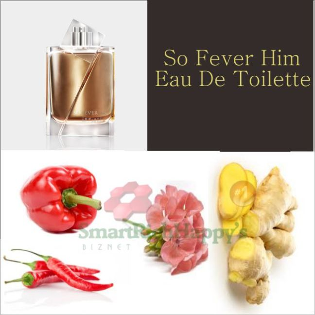 Komposisi So Fever Him Eau De Toilette