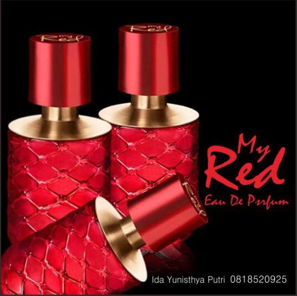 My Red Eau De Parfum 25304 Oriflame