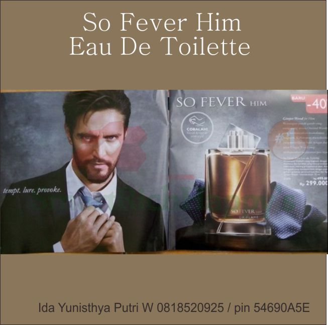 oriflame so fever him edt 31074