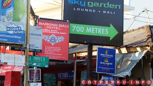 Poppies lane street location is very strategic, close to Kuta Beach, Legian and Beachwalk, the newest mall in Bali