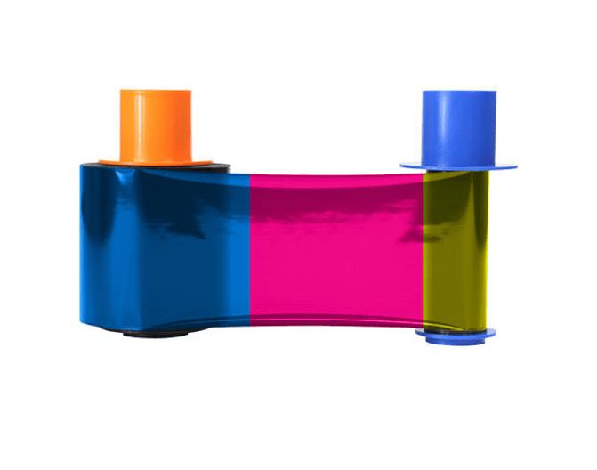 HID Fargo DTC4500-YMCKK Printer Ribbon - 45215