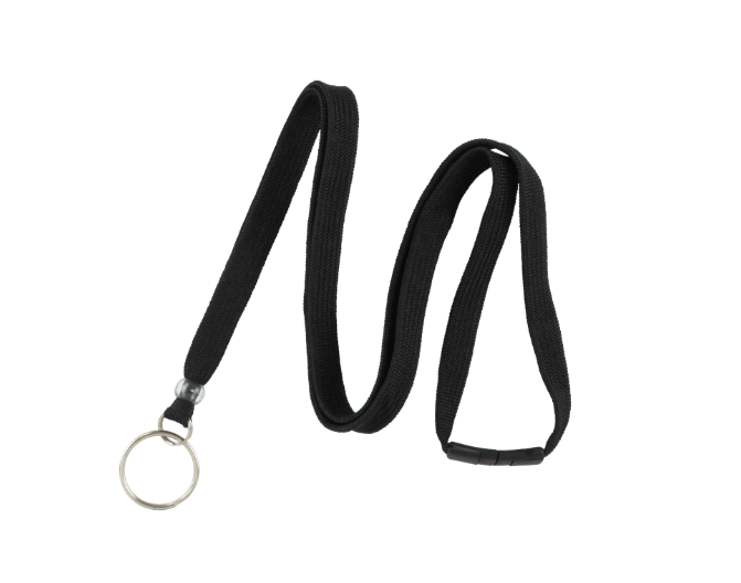"Breakaway Lanyard 3/8"" with Split Ring"