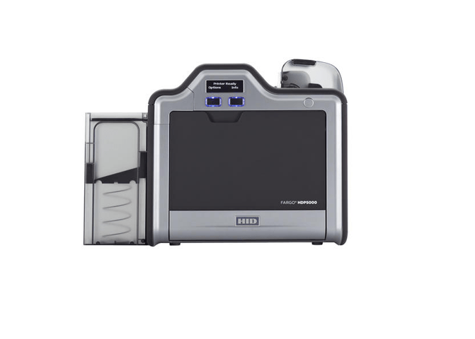 HID Fargo HDP5000 SS Printer w/ ISO Mag Stripe Encoder