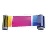 Fargo YMCKOK DTC500 Models Full Color Ribbon