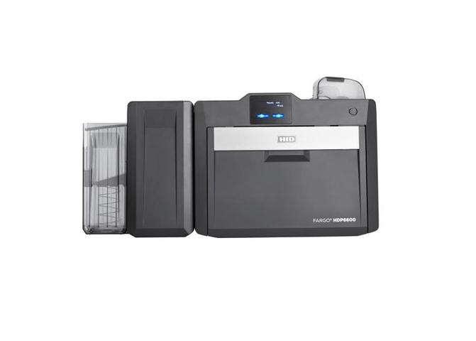 Fargo HDP6600 DS Printer w Contact Chip Encoder